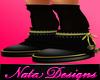 Queen Bee Neko Boots