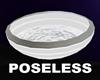 POSELESS WHITE MILK BOWL