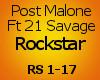 Post Malone Rockstar