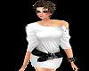 22R* White hot dress