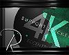 R 4k SupportSticker