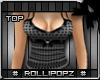 RP. Valen Top - Black