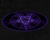 [DD] Purple Oval Rug
