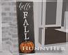 H. Hello Fall Porch Sign