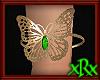 Butterfly Bracelet Green