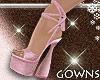 Vera's heels pink