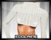 E~ Sexy Sweater White