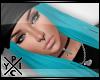 [X] Snapback Hair | Turq