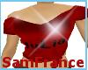 Julia Top Red