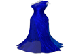 ! INAYAH BLUE GOWN