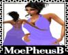 Slim Lavender Lace Gown