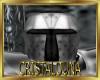 Dark silver knight helmt