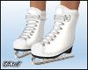 D- Ice skating White