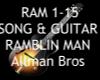 Ramblin Man +Guitar ~