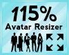 Avatar Scaler 115%