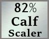 82% Calf Calves Scale MA