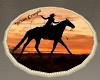 Texas Cowgirl Rug