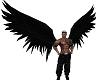 Goth Black Wings