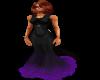 Black/Purple Gown