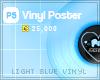 [PS] Light Blue Vinyl
