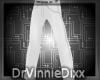 White slim dress slacks