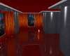 classy red/grey loft pad