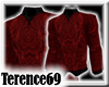 69 Sweater - Red Black