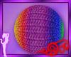 *Jo* Rainbow Yarn Ball