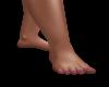 Foot Pink Toenails
