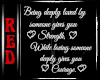  R Quote: Being Loved
