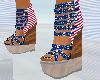 [W]Flag Heels