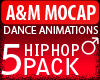 A&M Dance *5 hiphop pack