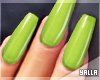 GEL Coffin Nails LIME