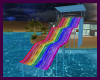 (R)Rainbow Water Slide
