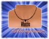 [Arz]Collar black Whatch