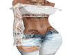 ~Cyn~ White lace top
