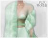 [Lona Robe-Mint Fur