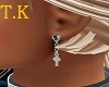 T.K Celtic Cross Earring