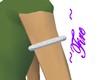 Silver Sparkle Armband L