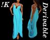 !K! Delure Drape Gown