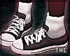 † chucks&socks / black