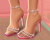 J   Mandy Pink Heels