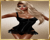 C44 Black Laytex Dress