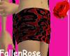 Red mini w/ black design