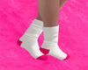 Socks White/Pink