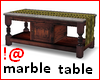 !@ Antique marble table