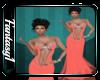 Classy Orange Gown