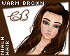 Nialh Warm Brown