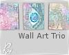 Wall Art Trio
