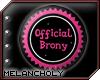 Official Brony Badge M